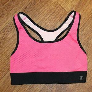 Champion Pink Sports Bra Small